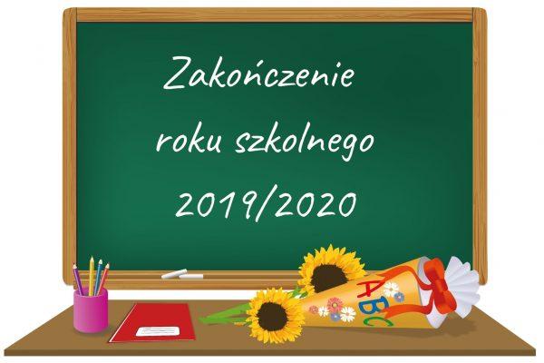 Zakoczenie roku szkolnego 2019_2020